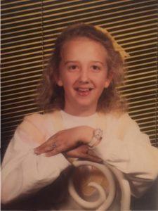 Bridgette, 6th grade Circa 1988